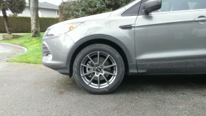 Ford Escape tire size